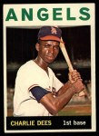 1964 Topps #159  Charlie Dees  Front Thumbnail