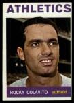 1964 Topps #320  Rocky Colavito  Front Thumbnail