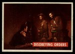 1956 Topps Davy Crockett #25 GRN  Disobeying Orders  Front Thumbnail