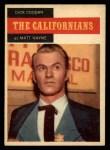1958 Topps TV Westerns #69   Dick Coogan  Front Thumbnail
