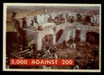 1956 Topps Davy Crockett #76 GRN  5000 Against 200 Front Thumbnail
