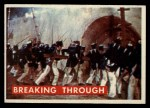 1956 Topps Davy Crockett #72 GRN  Breaking Through  Front Thumbnail