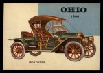 1954 Topps World on Wheels #120   Ohio Roadster 1908 Front Thumbnail