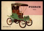 1954 Topps World on Wheels #20   Pierce Motorette 1903 Front Thumbnail