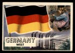 1956 Topps Flags of the World #55   Germany (West) Front Thumbnail