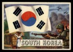 1956 Topps Flags of the World #37   South Korea Front Thumbnail