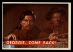 1956 Topps Davy Crockett #58 GRN  Georgie Come Back Front Thumbnail