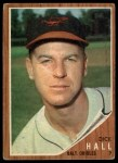 1962 Topps #189 A Dick Hall  Front Thumbnail