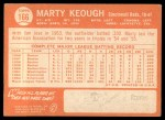 1964 Topps #166  Marty Keough  Back Thumbnail