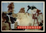 1956 Topps Davy Crockett #75 GRN  Surrounded  Front Thumbnail