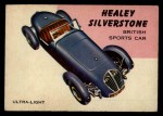 1954 Topps World on Wheels #96   Healey Silverstone Front Thumbnail