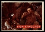 1956 Topps Davy Crockett #48 GRN  Sign Language  Front Thumbnail