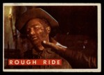 1956 Topps Davy Crockett #59 GRN  Rough Ride  Front Thumbnail