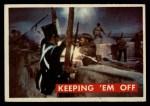 1956 Topps Davy Crockett #70 GRN  Keeping 'Em Off  Front Thumbnail
