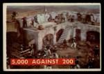 1956 Topps Davy Crockett #76 GRN  5000 Against 200 Front Thumbnail