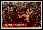 1956 Topps Davy Crockett #10 GRN  Deadly Arrows  Front Thumbnail