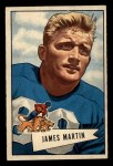 1952 Bowman Small #52  Jim Martin  Front Thumbnail