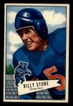 1952 Bowman Small #88  Billy Stone  Front Thumbnail