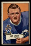 1952 Bowman Small #102  Bob Cross  Front Thumbnail
