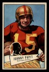 1952 Bowman Small #143  Johnny Papit  Front Thumbnail