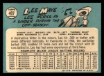 1965 Topps #407  Lee Maye  Back Thumbnail