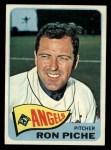 1965 Topps #464  Ron Piche  Front Thumbnail