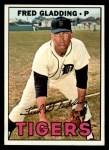 1967 Topps #192  Fred Gladding  Front Thumbnail
