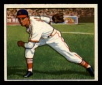 1950 Bowman #72  Howie Pollet  Front Thumbnail