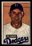1951 Bowman #7  Gil Hodges  Front Thumbnail