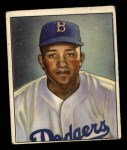 1950 Bowman #23  Don Newcombe  Front Thumbnail