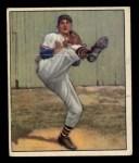 1950 Bowman #19  Warren Spahn  Front Thumbnail