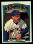 1972 Topps #602  Dave Bristol  Front Thumbnail