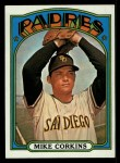 1972 Topps #608  Mike Corkins  Front Thumbnail