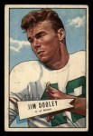 1952 Bowman Small #31  Jim Dooley  Front Thumbnail