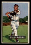 1951 Bowman #98  Willard Marshall  Front Thumbnail