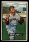 1951 Bowman #179  Danny Litwhiler  Front Thumbnail