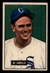 1951 Bowman #35  Al Zarilla  Front Thumbnail