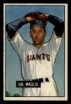 1951 Bowman #127  Sal Maglie  Front Thumbnail