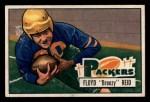 1951 Bowman #52  Floyd Reid  Front Thumbnail
