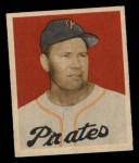 1949 Bowman #77  Ernie Bonham  Front Thumbnail