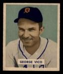 1949 Bowman #122  George Vico  Front Thumbnail