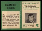 1966 Philadelphia #183   Redskins Team Back Thumbnail