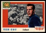 1955 Topps #83  Ted Coy  Front Thumbnail