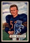 1951 Bowman #122  Bill Wightkin  Front Thumbnail