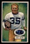 1951 Bowman #22  Joe Geri  Front Thumbnail