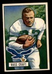 1951 Bowman #47  Russ Craft  Front Thumbnail