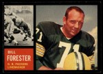 1962 Topps #73  Bill Forester  Front Thumbnail