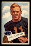 1952 Bowman Small #64  Howard Hartley  Front Thumbnail