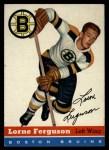 1954 Topps #31  Lorne Ferguson  Front Thumbnail