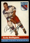 1954 Topps #11  Andy Bathgate  Front Thumbnail